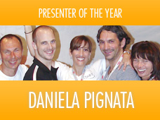 Daniela Pignata | Presenter of the year